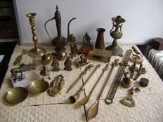 Collection of copper objects