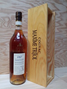 Maxime Trijol Cognac 1967-2017 Vintage Millésime, Petite Champagne. 430 bottles in the world