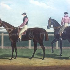 R.G. Reeve-Rowton, the  Winner of the Great St. Leger Stakes at Donkaster,-1829