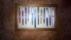 Display case for fountain pens