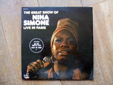 Diverse collection of 37 jazz vinyl records with Nina Simone, Miles Davis and many more…