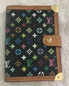 Louis Vuitton - Limited edition multicolore agenda noir PM - hard to find
