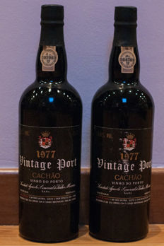 1977 Vintage Port Messias Quinta do Cachão - 2 bottles
