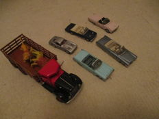 Franklin Mint - Scale 1/43 - Lot of 5 cars and 1 truck