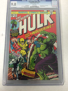 Marvel Comics - The Incredible Hulk #181 - CGC 9.8!!! - 1st Appearance Of Wolverine - (1974)