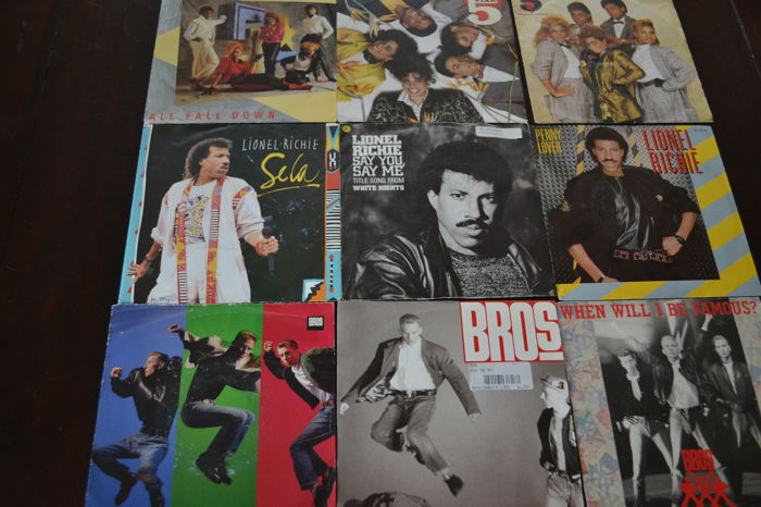 Disco Dance lot! 50 singles from half way the seventies and the eighties!