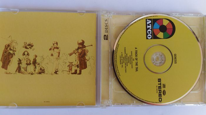 Genesis - The Collins era - Lot of CD/SACD/DVD - A Trick Of