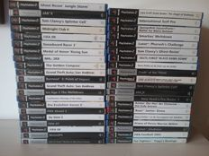 41 PS2 Games(No Manual)