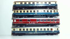 Märklin H0 - 3 x carriages of the DB and 1 dining carriage