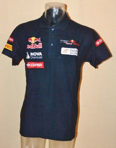 Orig. Toro Rosso F1 Team & Driver Polo Shirt > Team Only !! ( Sainz / Kvyat )
