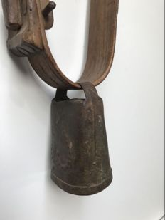 Antique French cowbell