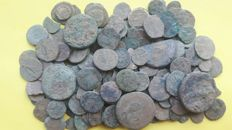Roman Empire -- Lot of 170 Roman AE coins, various emperors