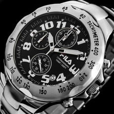 Fila chronograph watch - Men's sportive watch.