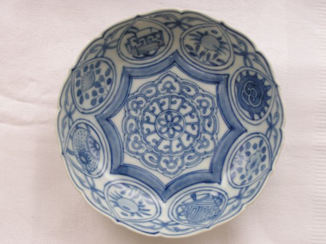 Arita bowl with kraak-style decoration - Japan - Late 18th century