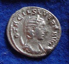 Roman Empire - Antoninianus of Otacilia Severa, wife of Philippus I (244-249 A.D.) CONCORDIA - minted in Rome (P628)