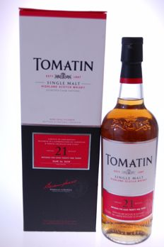 Tomatin 21 years old