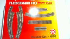 "Fleischmann H0 - 6192 - Rails set ""Parallel-Set"""