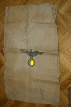 Original Wehrmacht jute sack - army food 1941, Germany