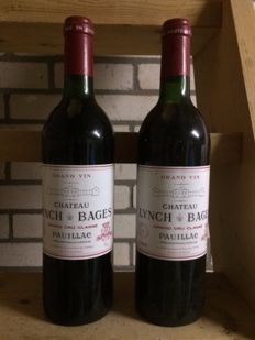 1984 Chateau Lynch-Bages, Pauillac Grand Cru Classé - 2 bottles