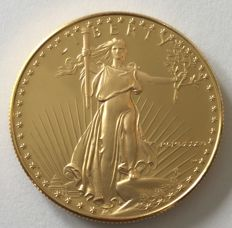 United States – 50 Dollars 1986 'American Eagle' – 1 oz gold