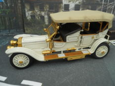Franklin Mint Scale 1/24 - Rolls Royce Silver Ghost 1911 - White