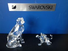 Swarovski - Cheetah seated - Lion Cub.