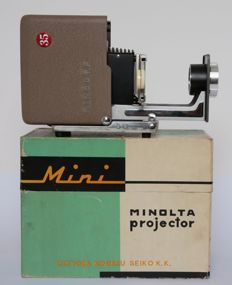 Minolta mini slide projector