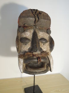 War mask - GREBO - Ivory Coast