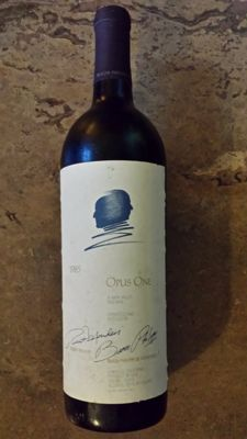 1985 Opus One, Napa Valley - 1 bottle (75cl)