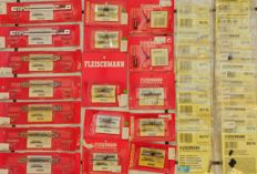 Fleischmann N-35 x different electric accessories