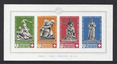 Switzerland 1940 – Pro Patria – Michel Block 5