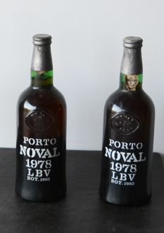1978 Late Bottled Vintage Port Quinta do Noval - bottled 1983 - 2 bottles