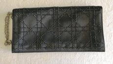 Dior - Canework clutch with chain.