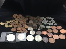 Great Britain - Lot of around 100 coins