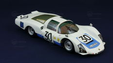 "Minichamps - Scale 1/18 - Porsche 906 ""Carrera 6"" long tail, 24 hours of Le Mans 1966, drivers: Rolf Stommelen - Gunter Klass."