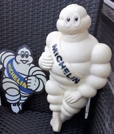 Michelin Bibendum - original 'made in France' figure in plastic - 48 cm - 31
