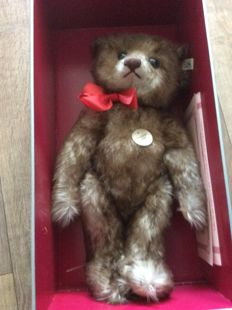 "Steiff, Germany - Length 40 cm - Teddy bear 1926 - the small version of the ""Happy Anniversary"" replica - 407215, 1990s"