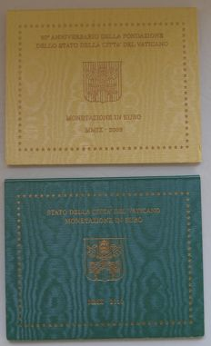 Vatican – Year pack 2009 and 2010, Benedict XVI