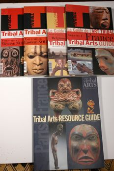 5 English version guides about Tribal Art