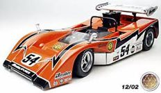 "GMP - Scale 1/18 - McLaren M8B ""Low Wing"" 1970 #54 Can-Am Championship - Driver: Oscar Kovelesky, Jerobee Auto-World Team."