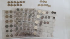 Belgium - collection of 143 coins of 1 cent/100 francs, 1864-1981