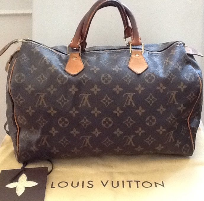 Louis Vuitton - Speedy 35cm Handbag - Catawiki de4ee857eecc1