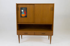 Designer unknown - vintage highboard