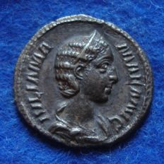Roman Empire – Silver Denarius of Julia Mamaea, mother of Severus Alexander (222-235 A.D.), struck in Rome (p625)