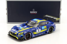 Norev - Scale 1/18 - Mercedes-Benz AMG GT3 Team Black Falcon #9 4th Place 24h Nurburgring 2016