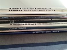 12 LP's - Johnny Cash  - The Wurzels - and More