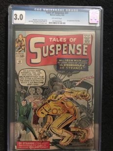 Marvel Comics - Tales Of Suspense #41 - CGC Graded 3.0 - (1963)