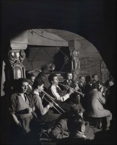 Willy Ronis (1910-2009) - Club Saint Germain des Prés - 1955