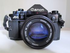Canon A1 + 50mm F1.4 camera 24 x 36  (1980)