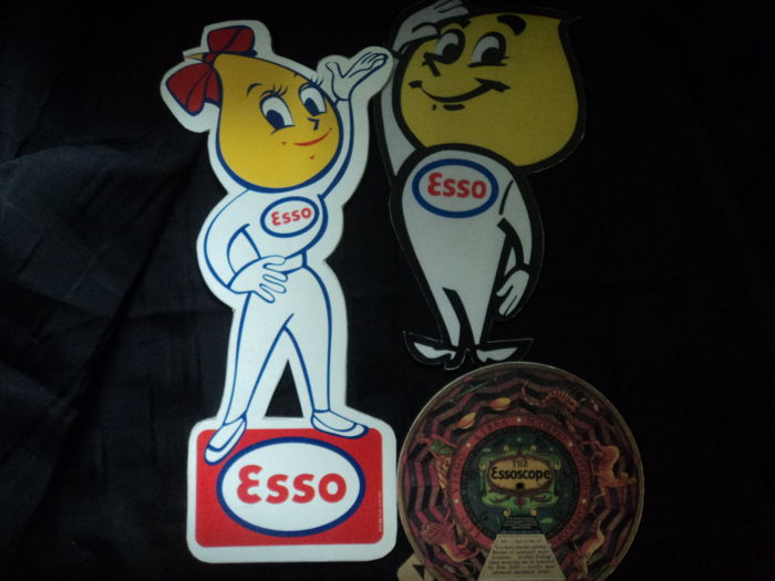 3 Esso advertising pieces